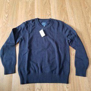 NWT GAP Kids V-Neck Sweater Navy Blue Size 8